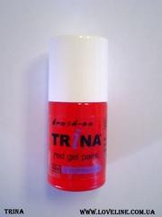 Trina гели для выкладки и рисования френча белые,  красные,  черные