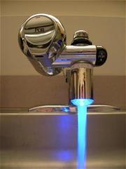Светодиодная насадка на кран с подсветкой воды купить в Полтаве