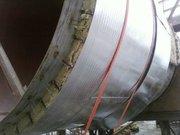 Изоляция воздуховодов. Дымоходы. Трубопроводы. АЛЮФОМ (пенофол) Доставка по Украине