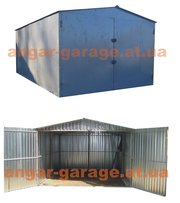 металлический гараж сборно-разборной для легкового авто