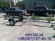 Прицепы под лодку от 6800 грн. Бесплатная доставка по всей Украине.