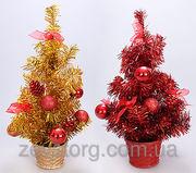 Декоративная елка в горшке,  40.5см