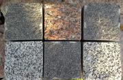 Гранитная брусчатка полнопиленная в Полтаве