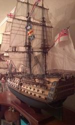 Продам модель парусного корабля