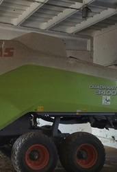 Крупнопакующий пресс-подборщик Claas QUADRANT 3400  тюковый,  прицепной