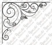 Кованные розетки для ворот,  калиток,  заборов и др. металлоконструкций.