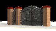 Ковка для воріт,  парканів металевих,  декоративних орогож