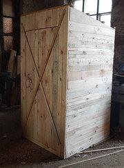 Продам туалет для дачи. (материалы ольха,  сосна ) .