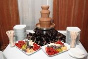 Шоколадный фонтан в Миргороде.