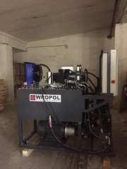 Пресс брикеты типа RUF опилки стружка 250 кг/ч