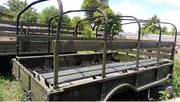 Кузов демонтированный с автомобиля ГАЗ-66,  металлический,