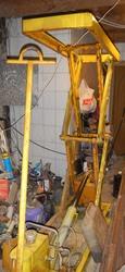 Продам гидравлическую тележку для подъема грузов. Производства СССР.